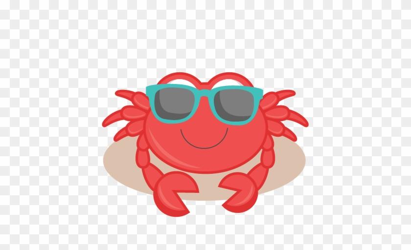 Crab Transparent Images All Clipart - Beach Crab Clip Art #125635