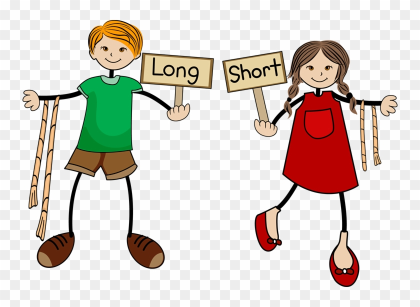 Long And Short Clipart - Long And Short Png #125731