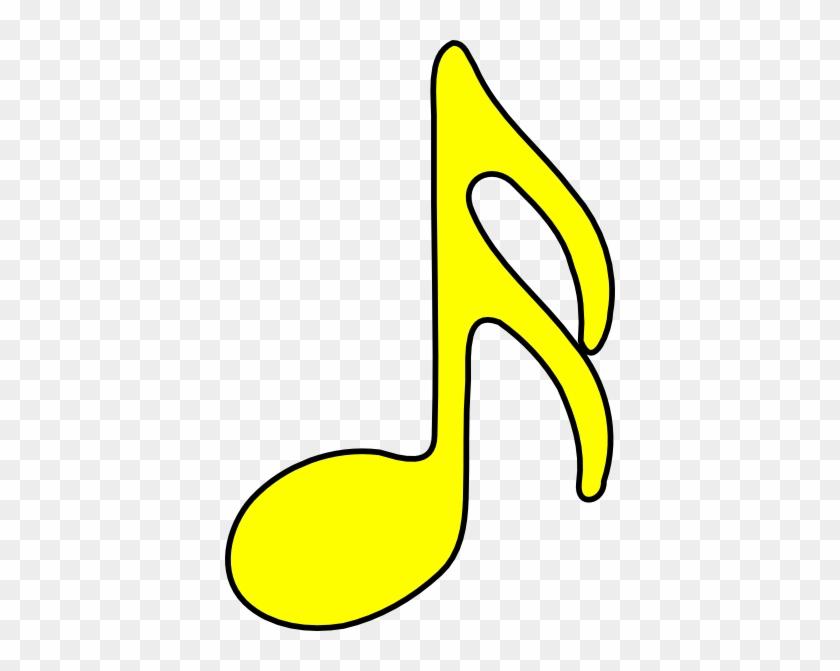 Sixteenth - Note - Clip - Art - Yellow Musical Notes Transparent #125809