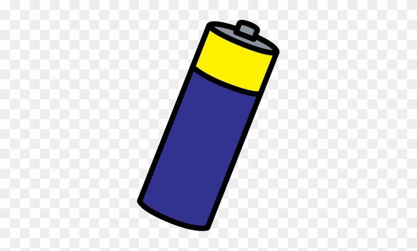 Battery Clip Art - Electric Battery #125813