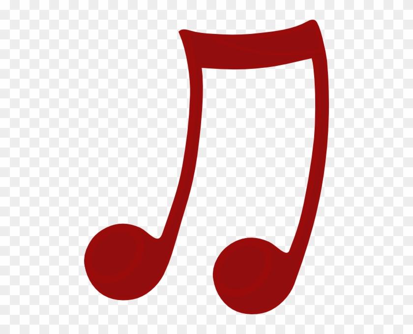 Musician Clipart Nota - Imagens De Notas Musicais Vermelha #125840