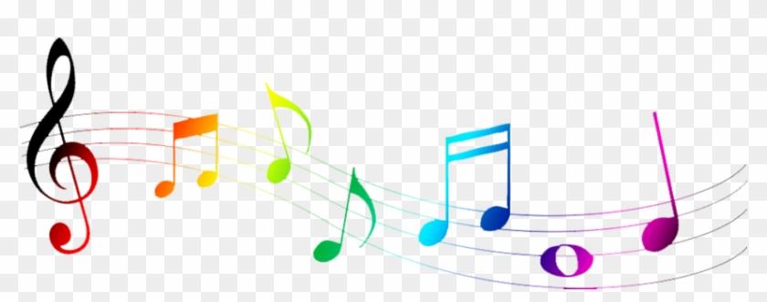 Music Notes Clipart Transparent - Colorful Music Notes Symbols #125857