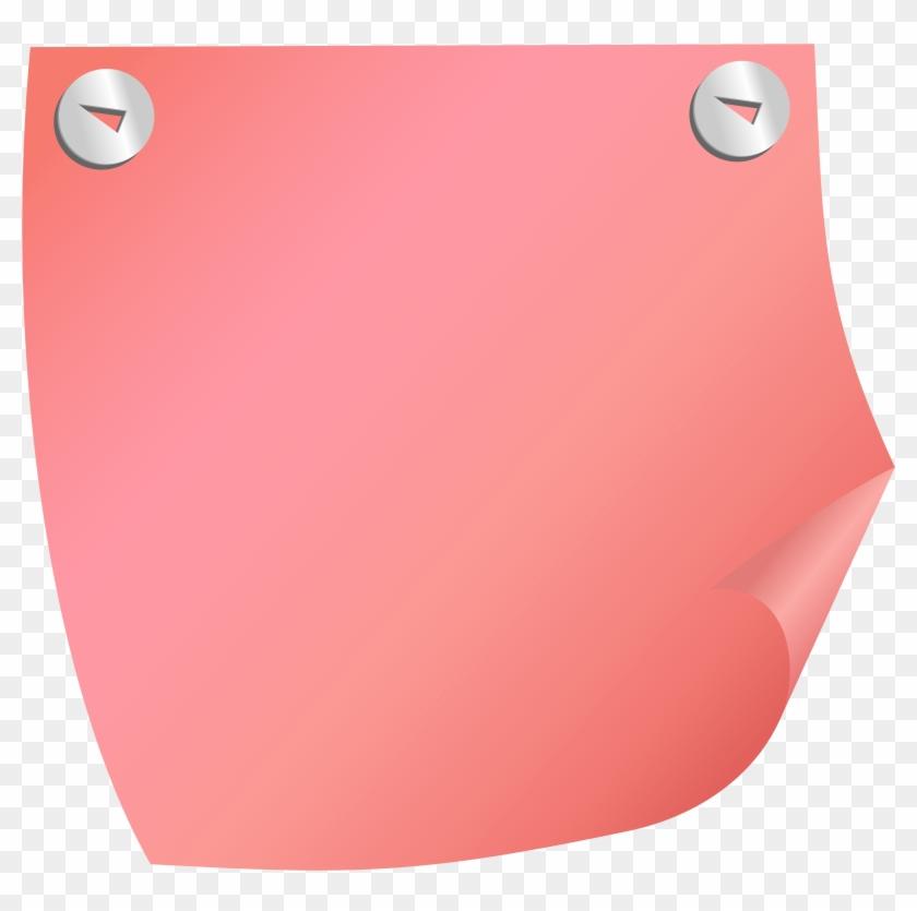 Sticky Note Red Png Clip Art - Sticky Note Red #125897