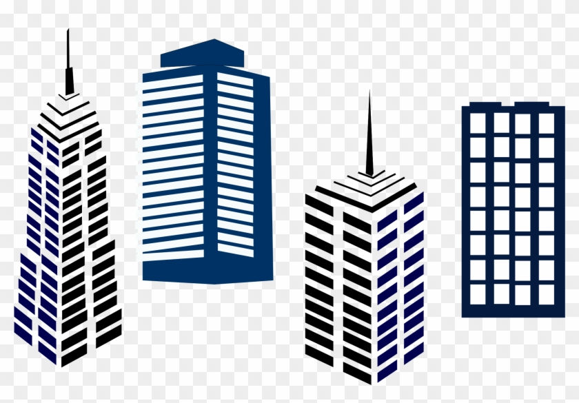 Commercial Real Estate Clipart #125901