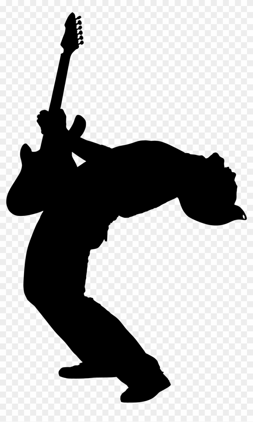 Spread The Word - Guitar Player Silhouette Png #125969