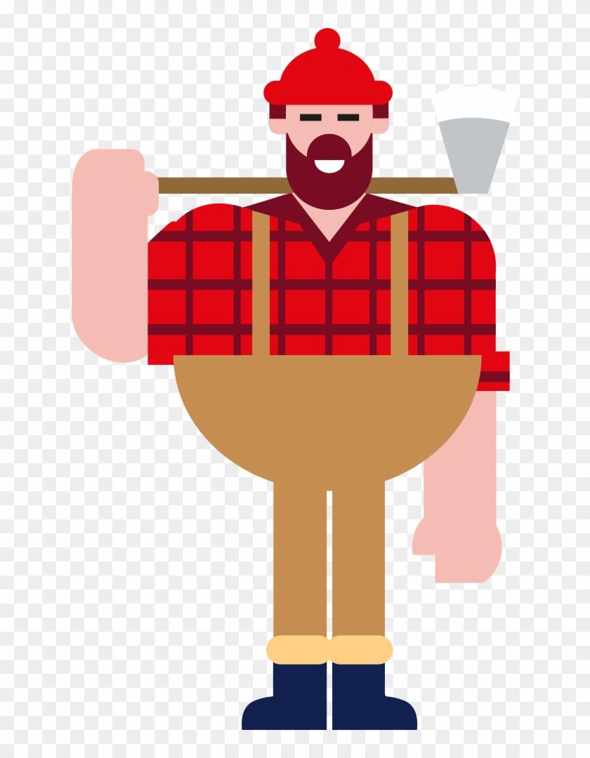 Clip Art Details - Lumberjack Clipart #126202