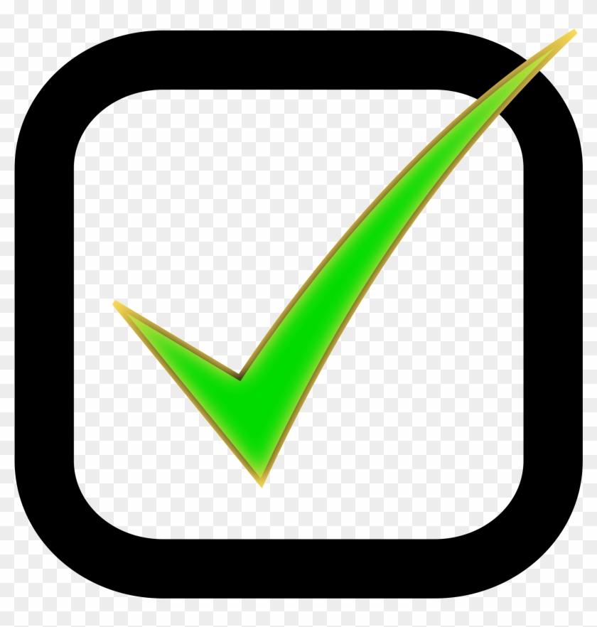 Check Box Clip Art - Checkmark Clipart #126261
