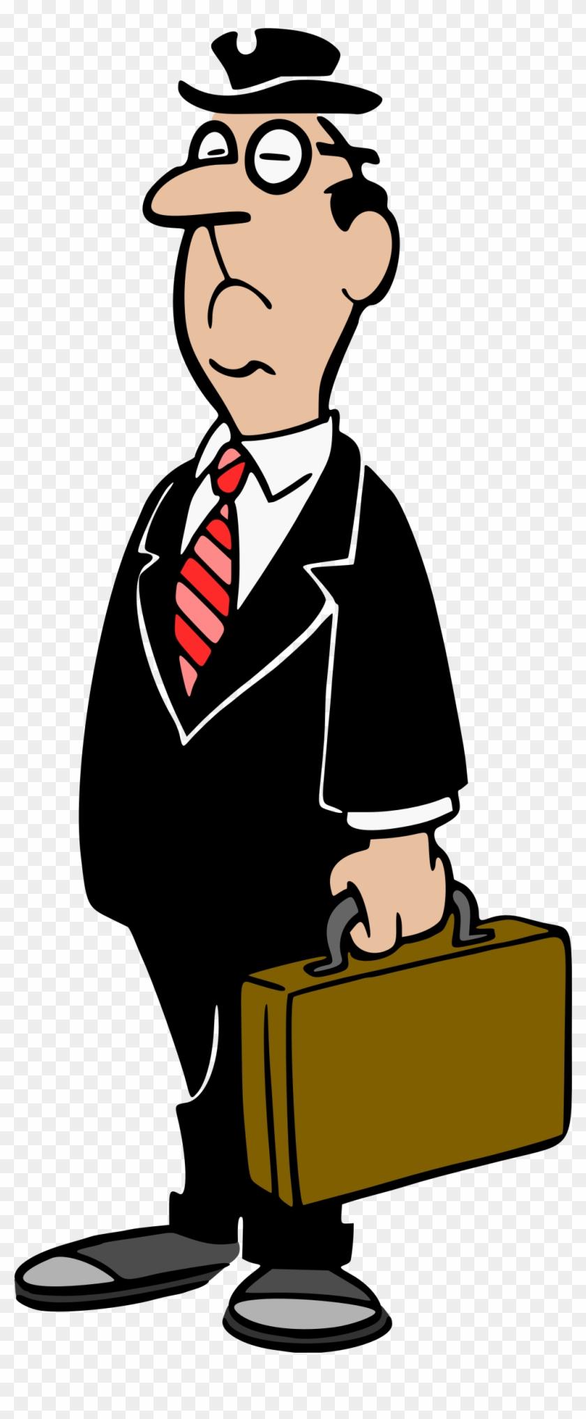 Big Image - Businessman Clipart #126307
