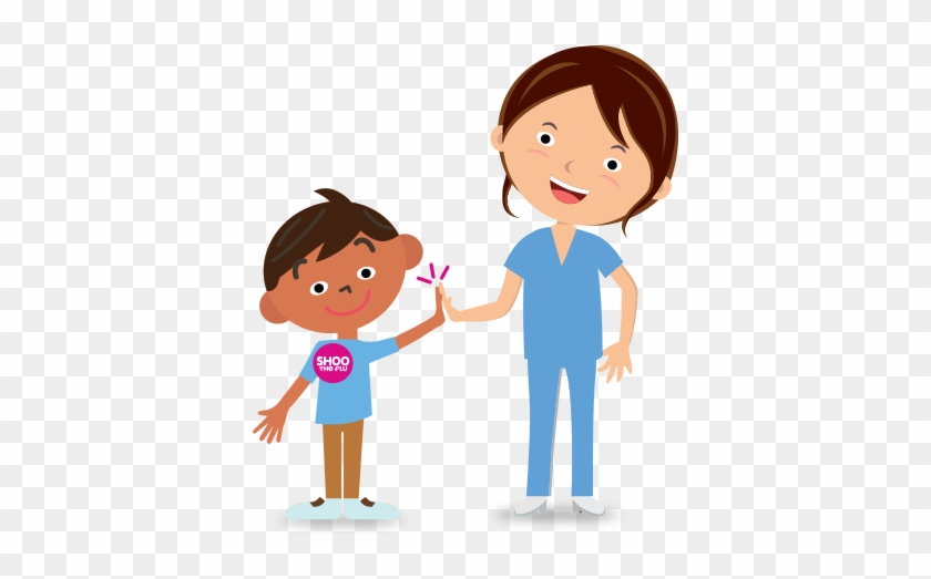 Helpful Reminder The Flu Vaccine Is Recommended For - Kid Flu Shot Clipart #126352