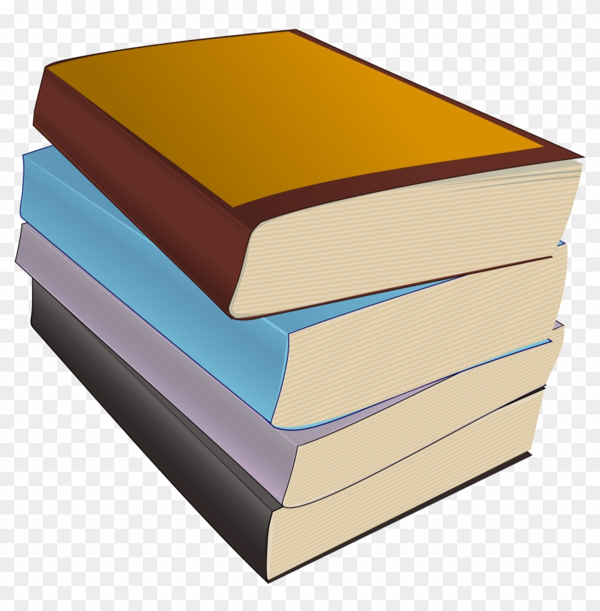 Stack Of Books Picture Of Books Free Download Clip - Parts Of A Book Worksheet #126442