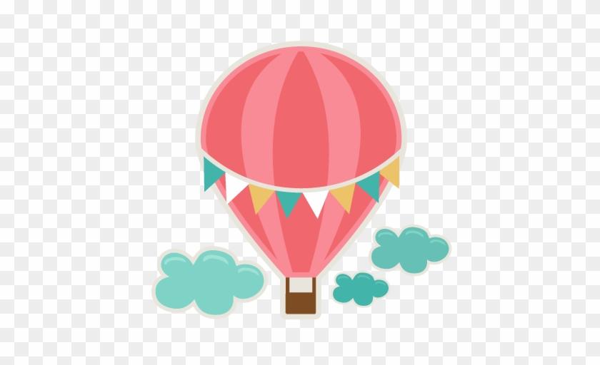 Hot Air Balloon Clip Art Free Hot Air Balloon Svg Cutting - Hot Air Balloon Printable #126510