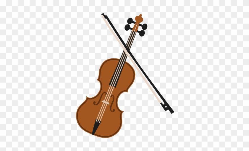 Amazing Violin Clipart Violin Svg Scrapbook Cut File - Clipart Violin #126522