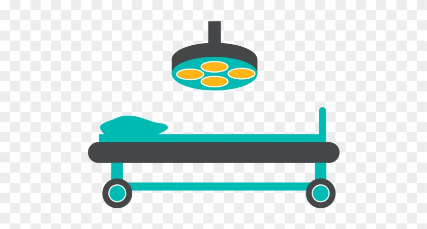 Illustration Of An Operating Table - Surgery Table Clipart #126540