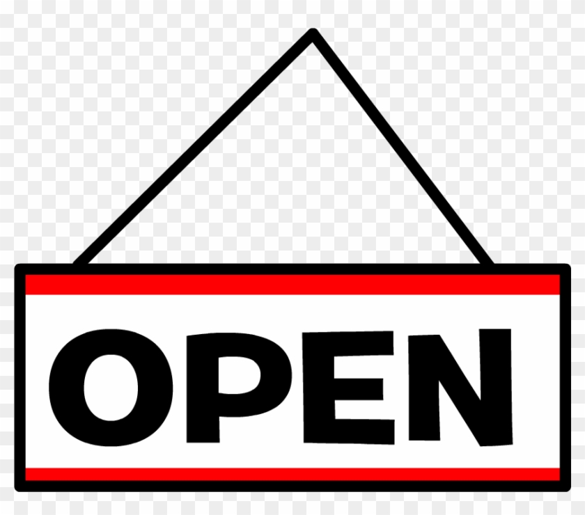 Open Sign Clip Art - Sign #126571