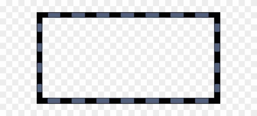 Free Vector Rectangular Border Clip Art - Picket Fence #126619