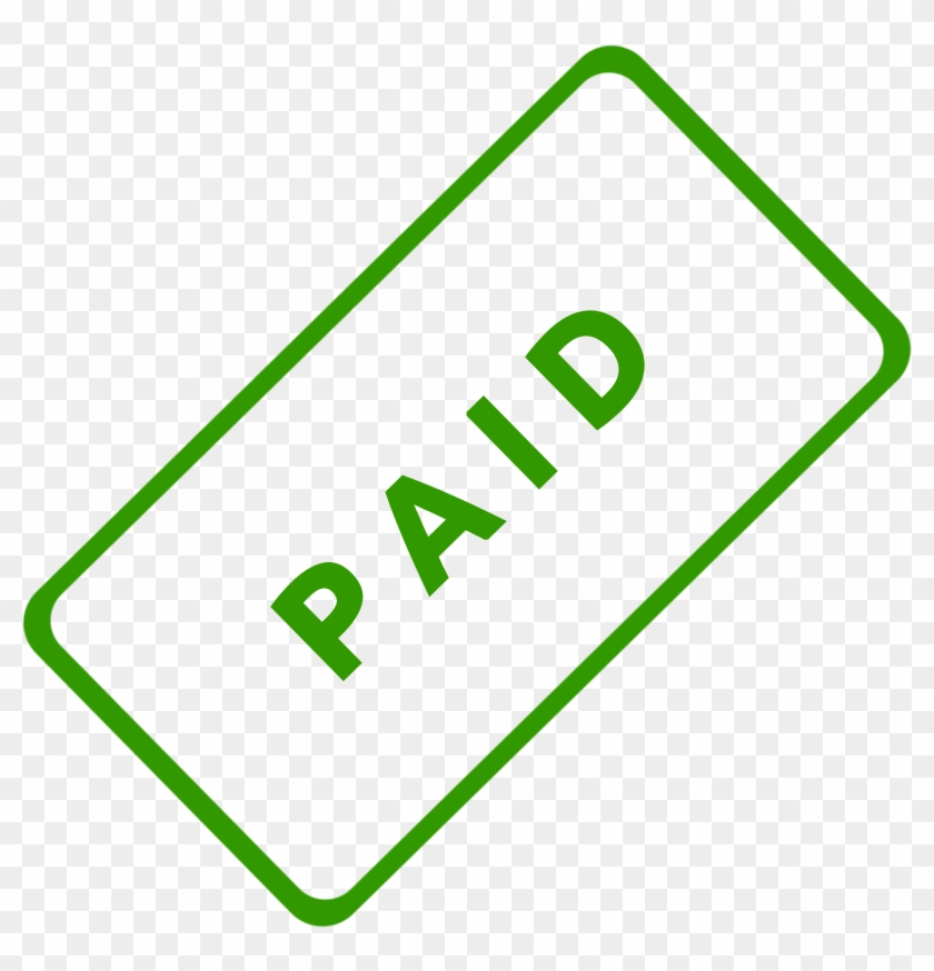 Paid Business Stamp - Paid Stamp Png #126836
