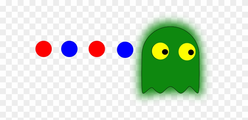 Spartan Pacman Clip Art - Pac Man Dots Clip Art #126867