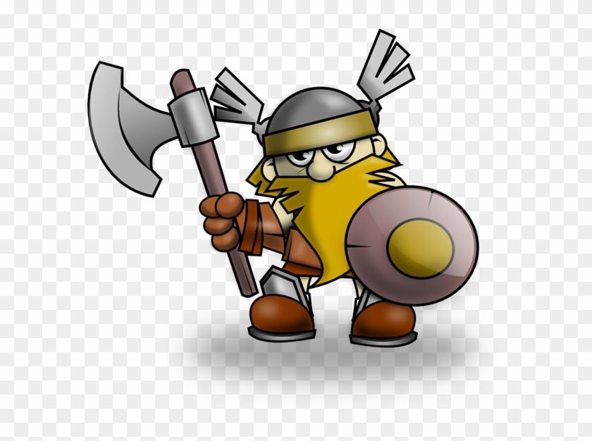 Free To Use Public Domain Vikings Clip Art - Viking Clipart #126925