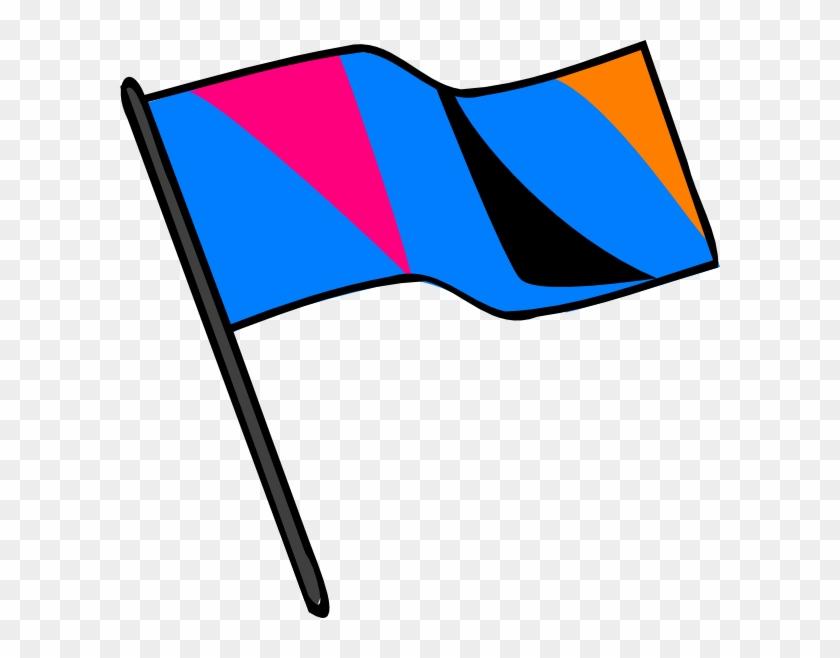 Color Guard Flag Clip Art Vector Online Royalty Free - Color Guard Flags Transparent #127009
