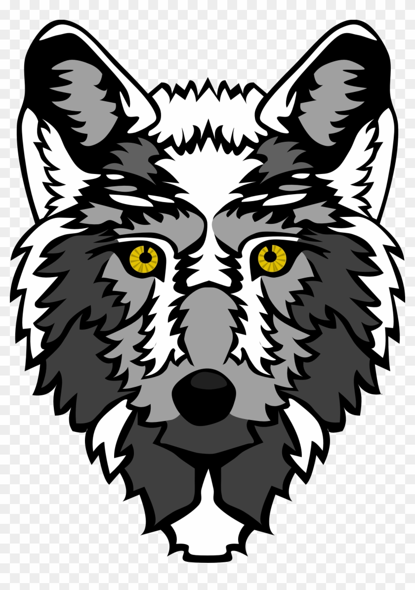 Wolf Vector Art - Animated Wolf Head Transparent #127023