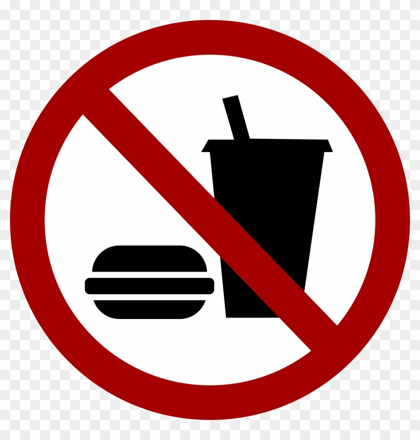 Similar Cliparts - - No Food And Drink Icon #127084