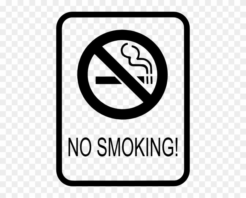 Free Vector No Smoking Sign Clip Art - Looking Backward: 2000-1887 [book] #127122
