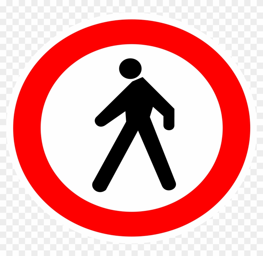 Free Vector No Entrance Sign Clip Art - Two Way Traffic Sign #127124