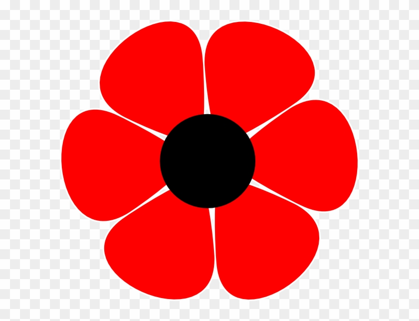 Flower Clip Art At Clker Com Vector Clip Art Online - 70s Flower #127260