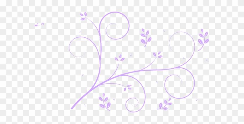 Squiggly Clip Art At Clker Com Vector Clip Art Online - Flower Vines #127285