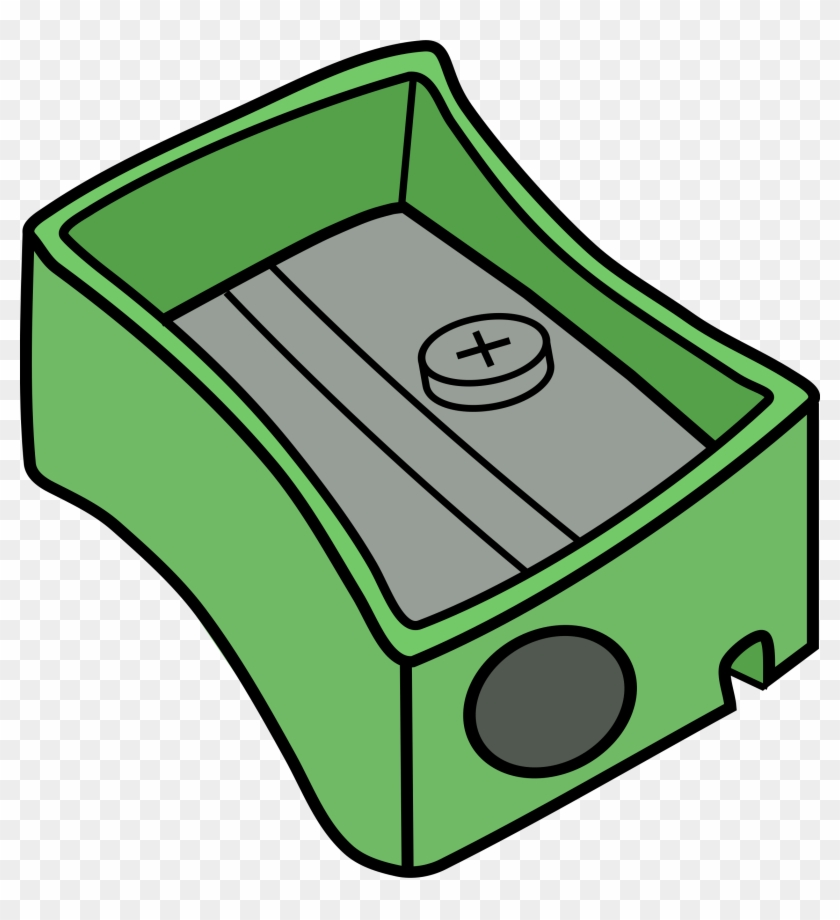 Pencil Sharpener Clipart - Pencil Case Coloring Pages #127358