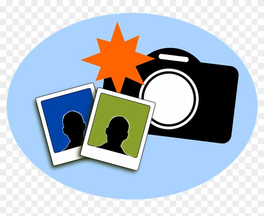 Camera And Photos Clipart #127383