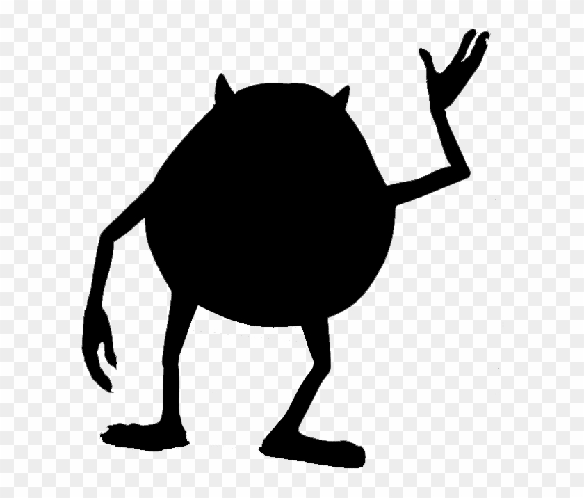 Sully Silhouette - Bing Images - Mike Wazowski Png #127409