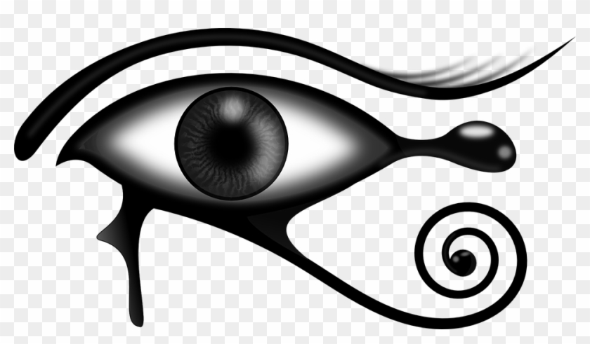 Egyptian Eye Clip Art - Egyptian Art Eye #127527