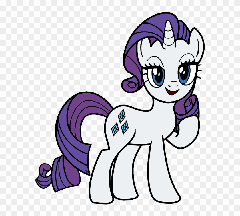 - My Little Pony Coloring Pages Rarity - Free Transparent PNG Clipart Images  Download