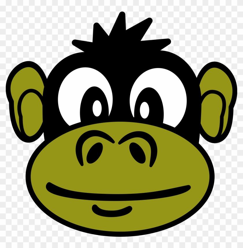 Big Image - Monkey Face Oval Ornament #127778