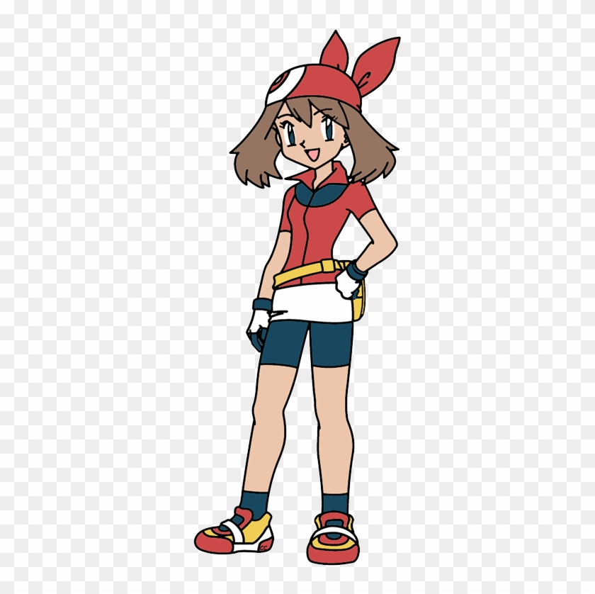 The Following Images Were Colored And Clipped By Cartoon - Pokemon May Dawn And Serena #127824