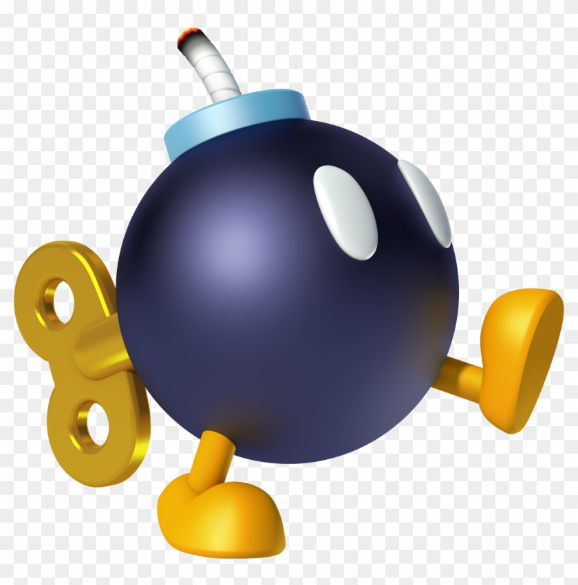 In The Mario Kart Series, The Bob-ombs Are A Weapon - Mario Kart 8 Bomb #127827
