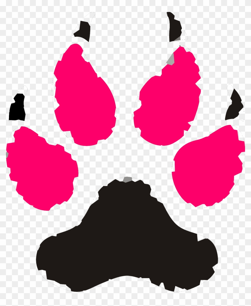 Paws Vector Clip Art Wolf Paw Print Clip Art 1282 1501 - Paws Vector Clip Art Wolf Paw Print Clip Art 1282 1501 #127869