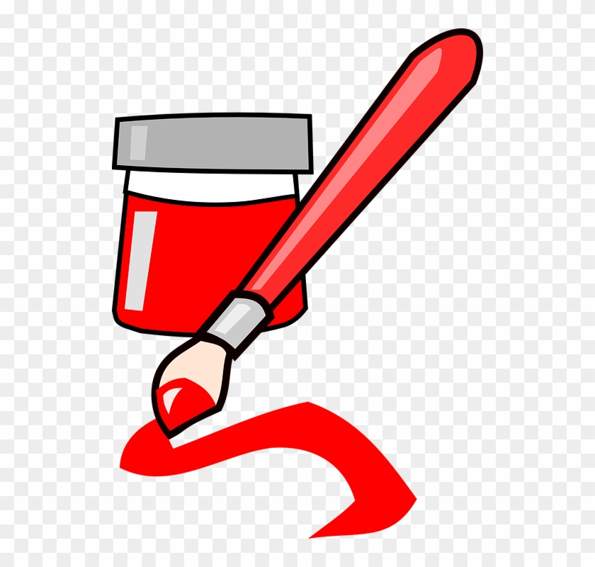 brush paint red art ink red paint brush clip art free rh clipartmax com paint brush clip art app paintbrush clipart free