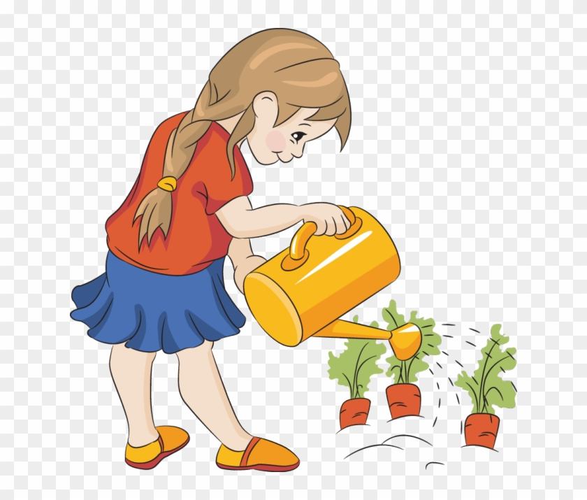 Watering Plants Cliparts - Watering Clipart #127893