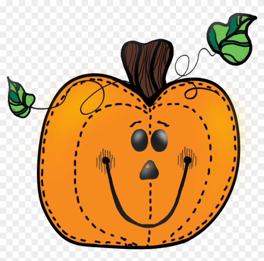 Light Pumpkin1 - Cute Pumpkin Clip Art #128017