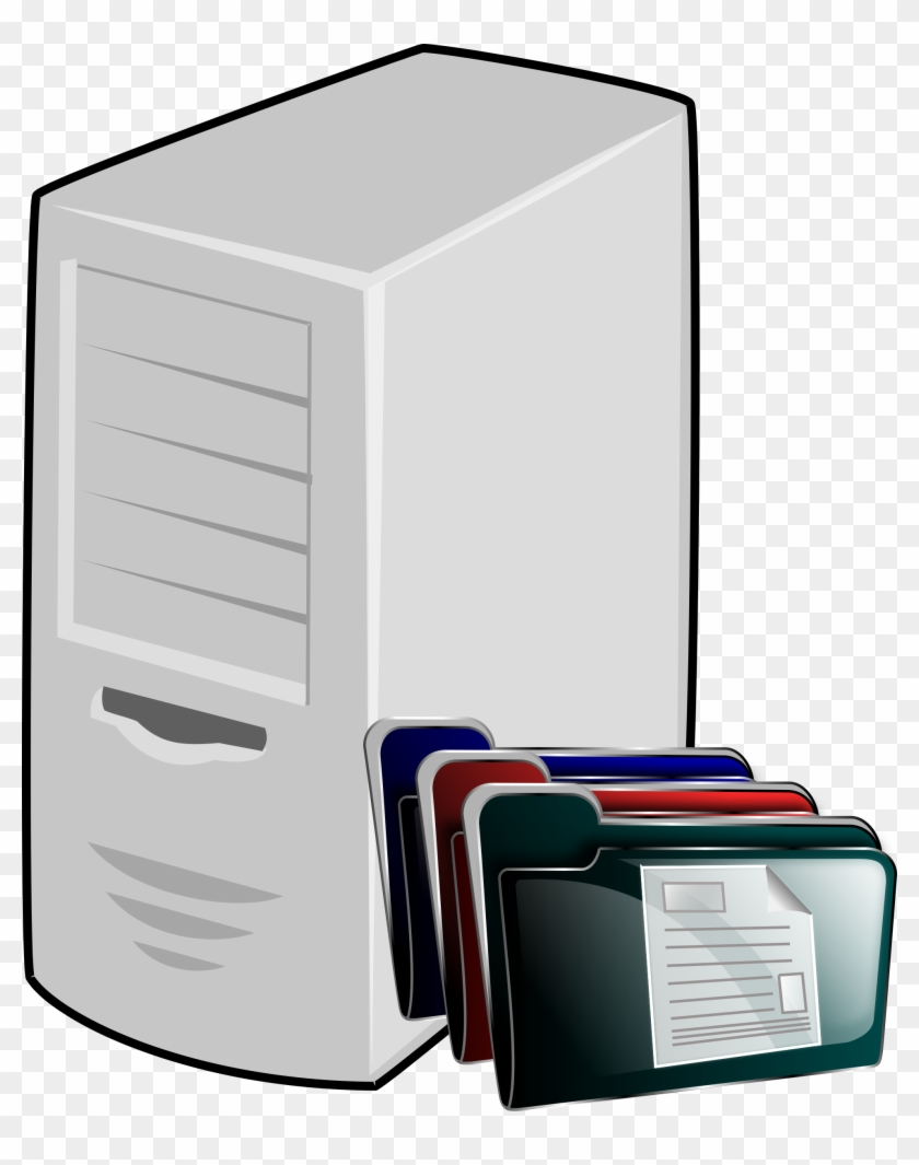 File Server Clipart - Application Server Icon Png #128132