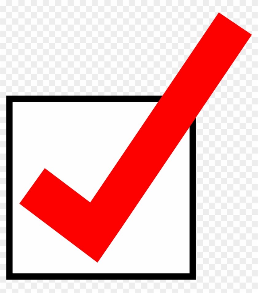 Check Mark Clipart For Powerpoint Clip Art Of Check - Red Check Mark In Box #128153