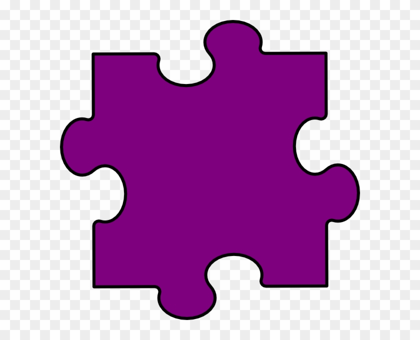Clip Arts Related To - Puzzle Piece Blue #128166