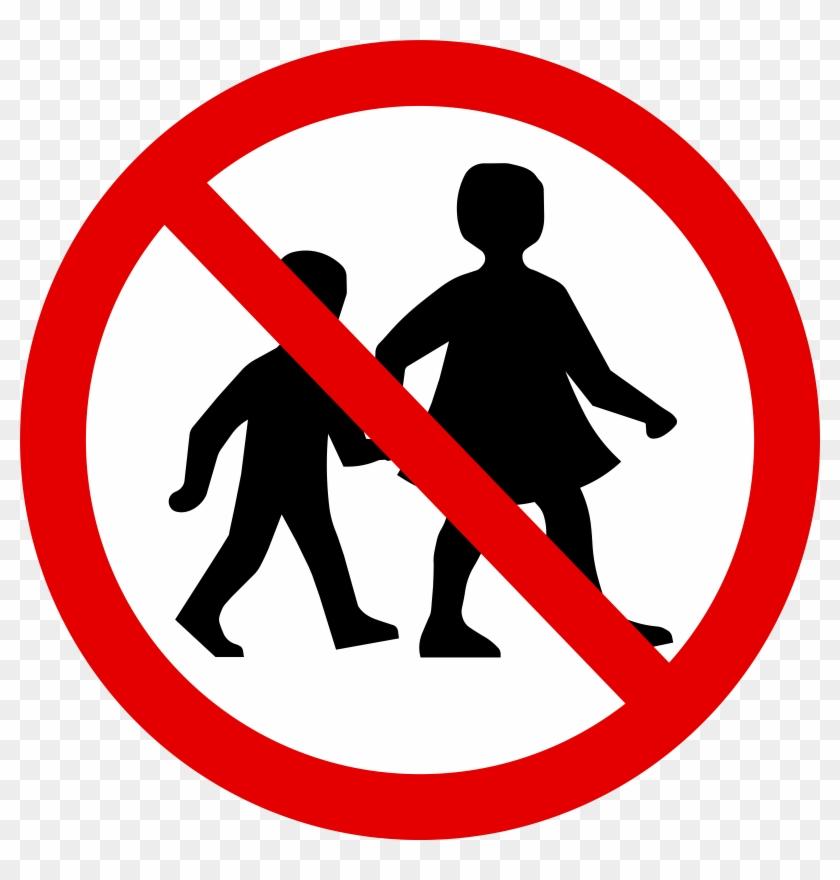 No Children Sign - No Children Sign #128180