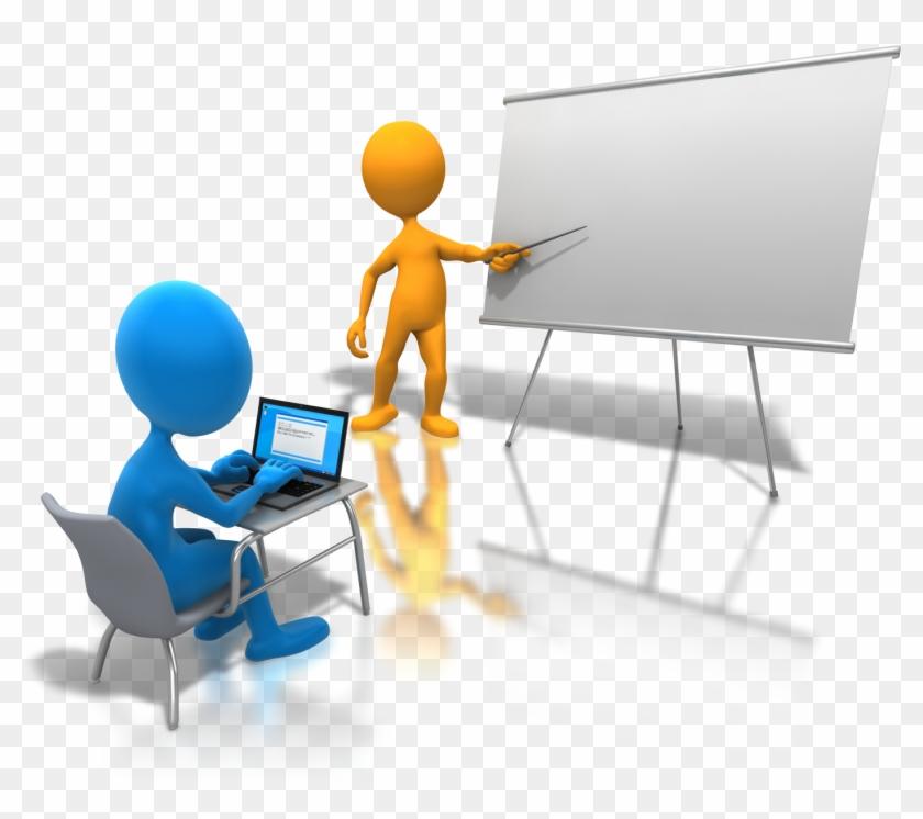 Icon Clipart Presentation Png Images - Capacitacion Del Personal Png #128240