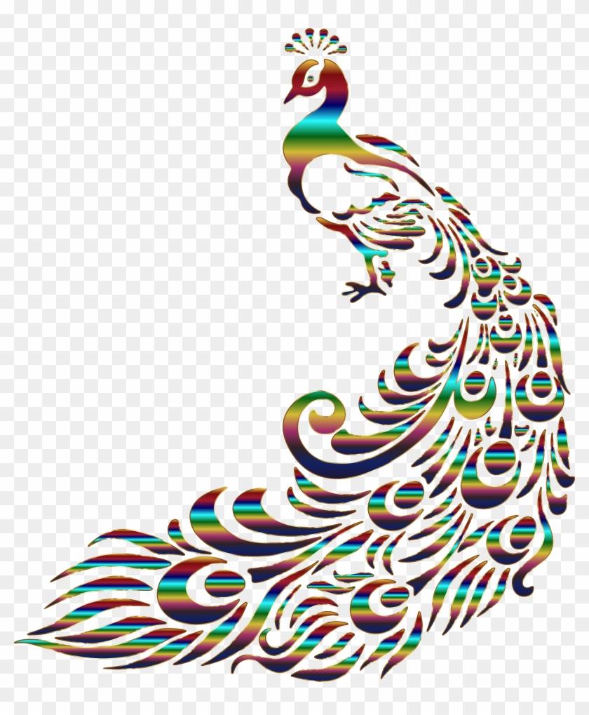 Big Image - Peacock Drawing #128278
