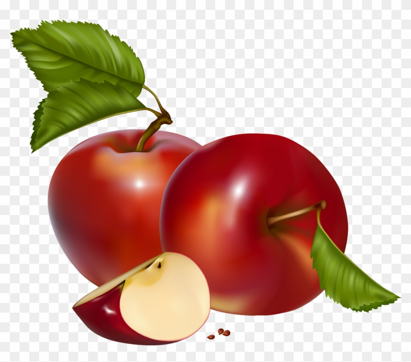 Red Apples Png Clipart - Apples Clipart Png #128315