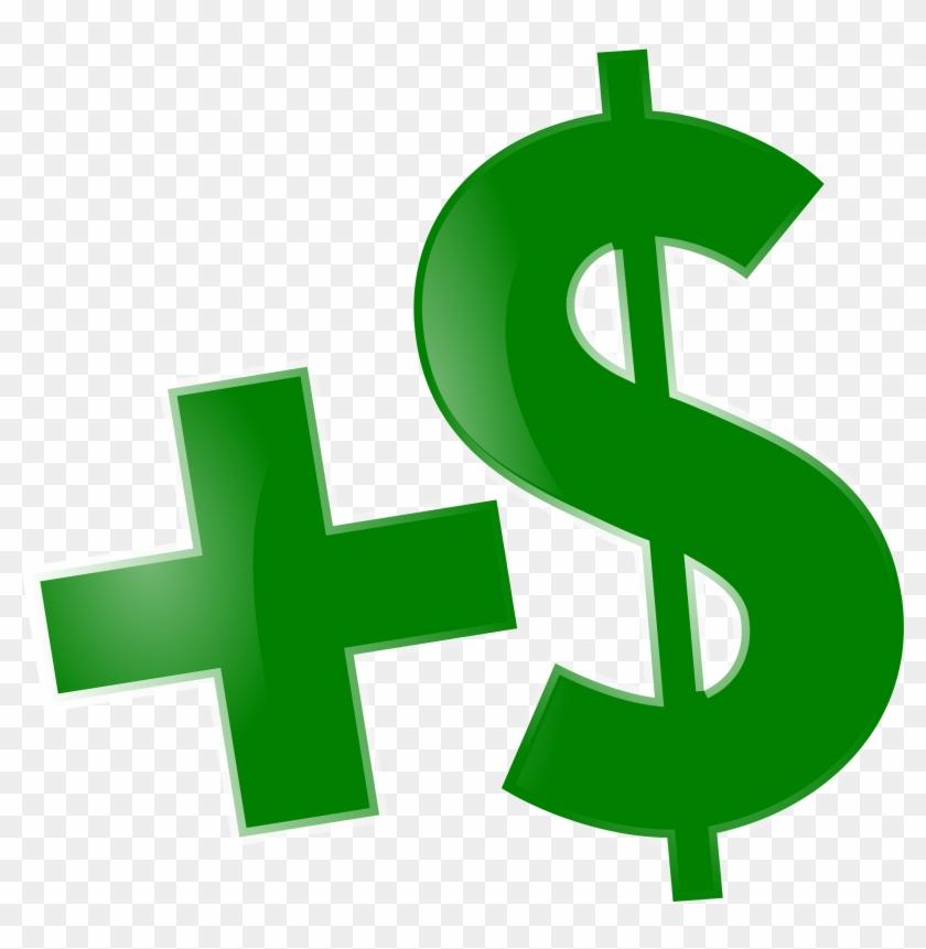 Money - Money With Plus Sign #128370