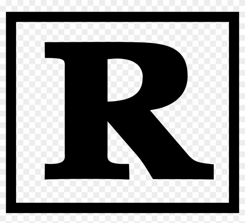 File - Rated R - Svg - Wikimedia Commons - Motion Picture Association Of America Film Rating System #128413